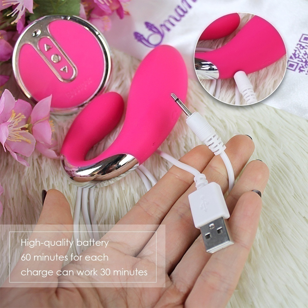 USB charging massage toy female remote control relax