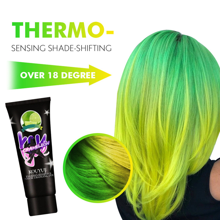 Thermochromic Color Changing Hair Wonder Dye