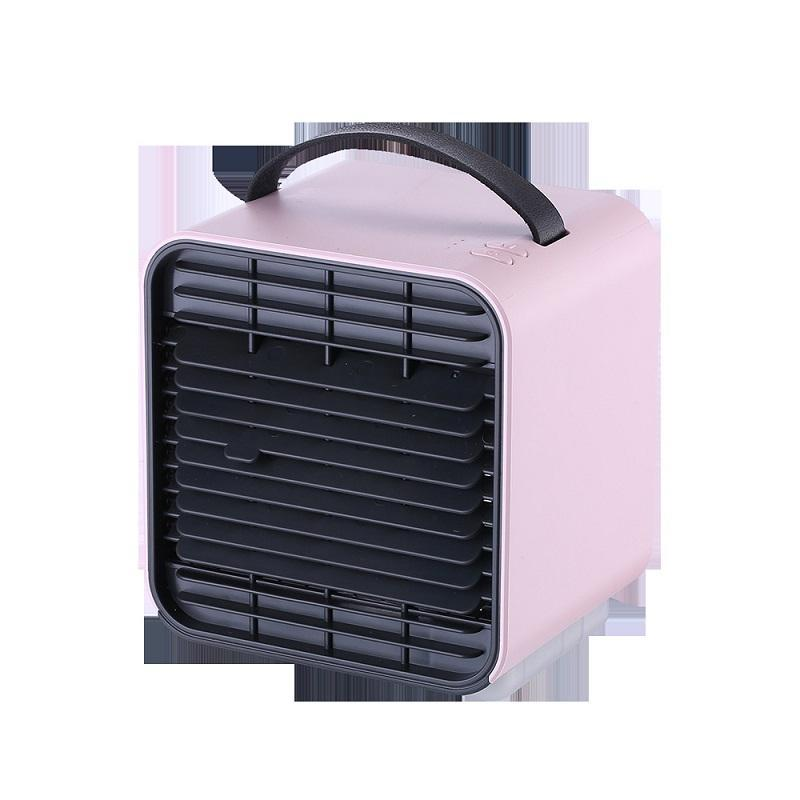USB Mini Air Conditioner Negative Ion Three-windshield Night Lamp Portable Air Conditioner