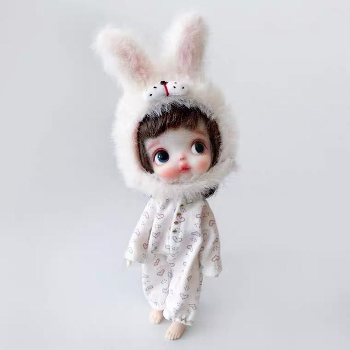 BJD - 18 Ball Jointed Doll DIY Toys with Clothes Outfit Shoes Wig Hair Makeup, Best Gift for Girls #4