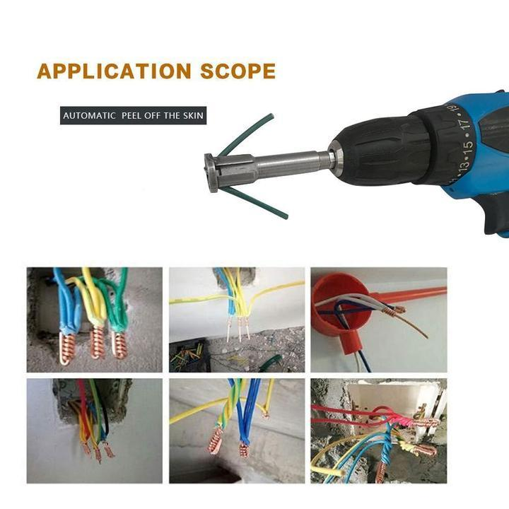 🔥BUY 2 GET 3🔥Fast Cable Wire Stripping and Twisting Tool