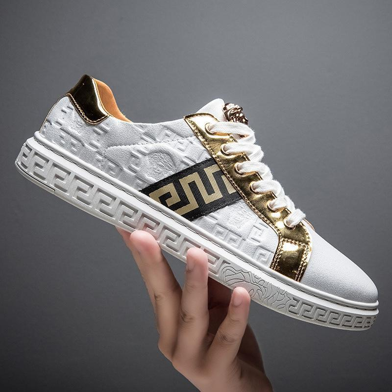 【50% discount for a limited time】Little white shoes Light luxury fashion sneakers Casual all-match shoes