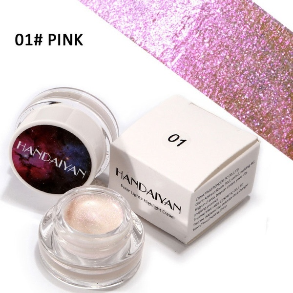 5 Colors Aurora Rainbow Highlight Eyeshadow Colorful chameleon highlights