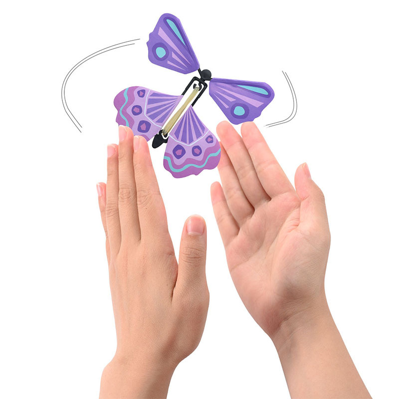 (Christmas card surprise)The Magic Butterfly(Color random)
