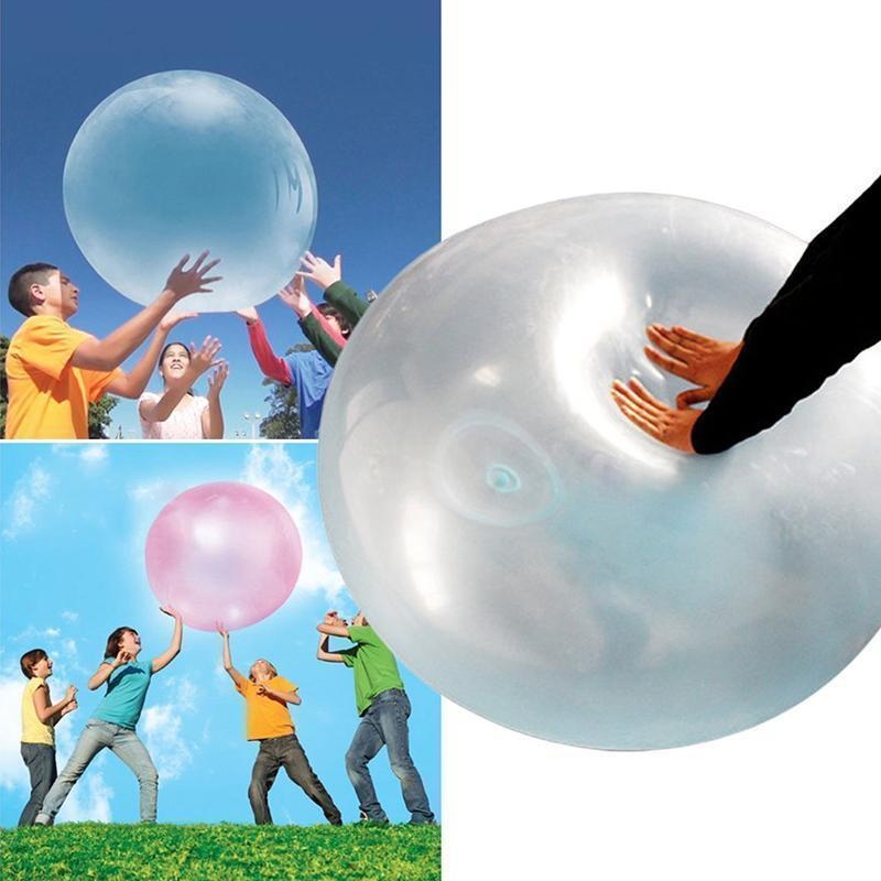The most fun toy, the MAGIC BUBBLE BALL!