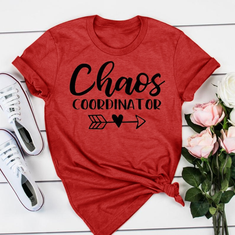 Chaos Coordinator Shirt  Kindergarten Teacher Tee  Teacher Shirt  Field Trip Shirts for Teachers