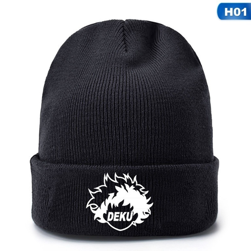 My Hero Academia Anime Deku Outdoor Warm Knit Hat