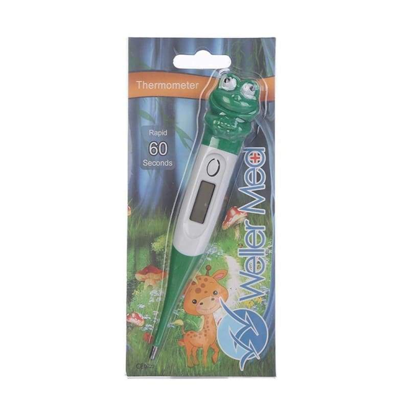 Portable Cartoon Cute Soft Animal Kids Electronic Thermometer Baby Supplies