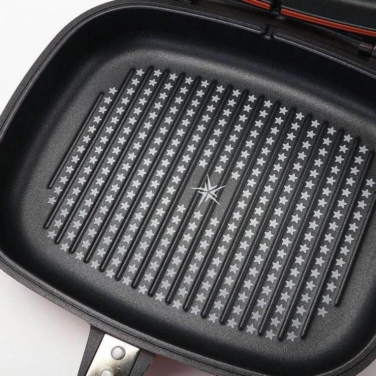 Nonstick Double-sided Frying Pan