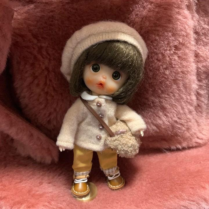 BJD - Luxury suit 18 Ball Jointed Doll DIY Toys with Handmade Clothes Outfit Shoes Wig Hair Makeup, Best Gift for Girls #10