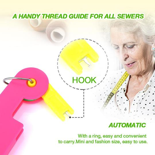 (New Year Promotion- SAVE 50% OFF) Auto Needle Threader -Buy 5 Get 3 Free & Free Shipping