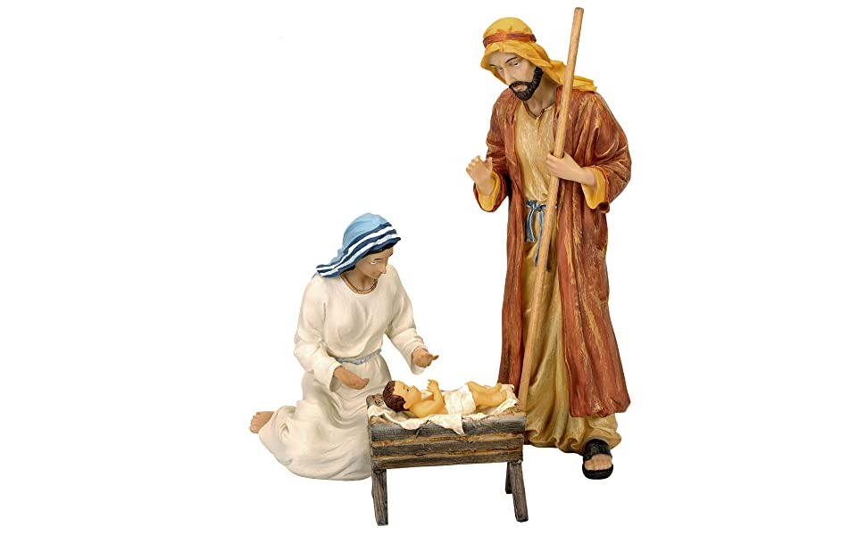 🔥 Only $26.98 BUY 1 GET 1 FREE🔥 Real Life Nativity Set