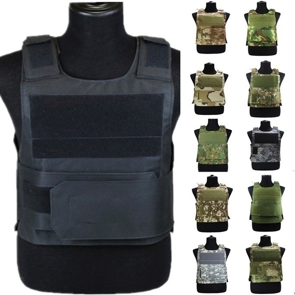 Army Military Tactical Vest Anti Stab Hard Self-Defense Clothing Bullet-proof Security Equipment Men Tactical Vest Bulletproof Vest Mountaineering Vest