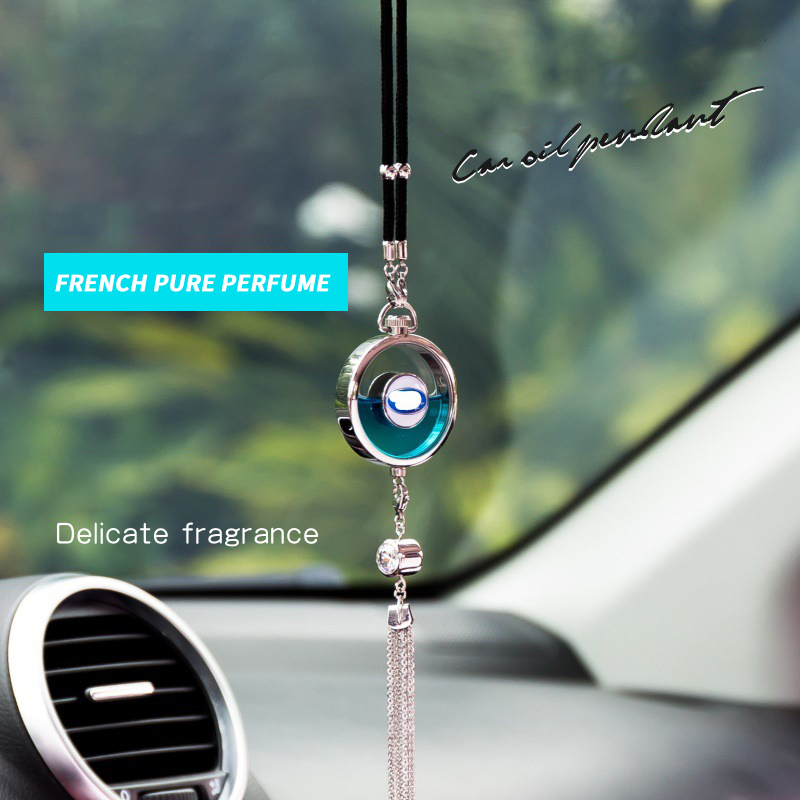 Car perfume pendant High-end aromatherapy car pendant decoration
