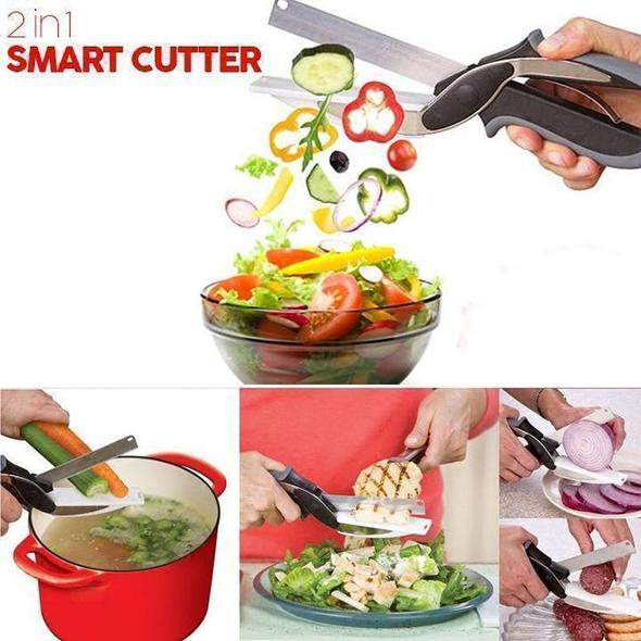 🔥Buy 2 Free Shipping🔥2 in 1 Smart Cutter