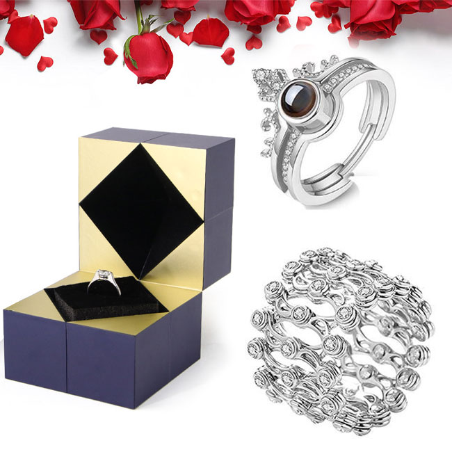 🔥Buy 1 Get 1 Free🔥Creative S925 Silver Ring, Bracelet And Puzzle Jew -  Carhome