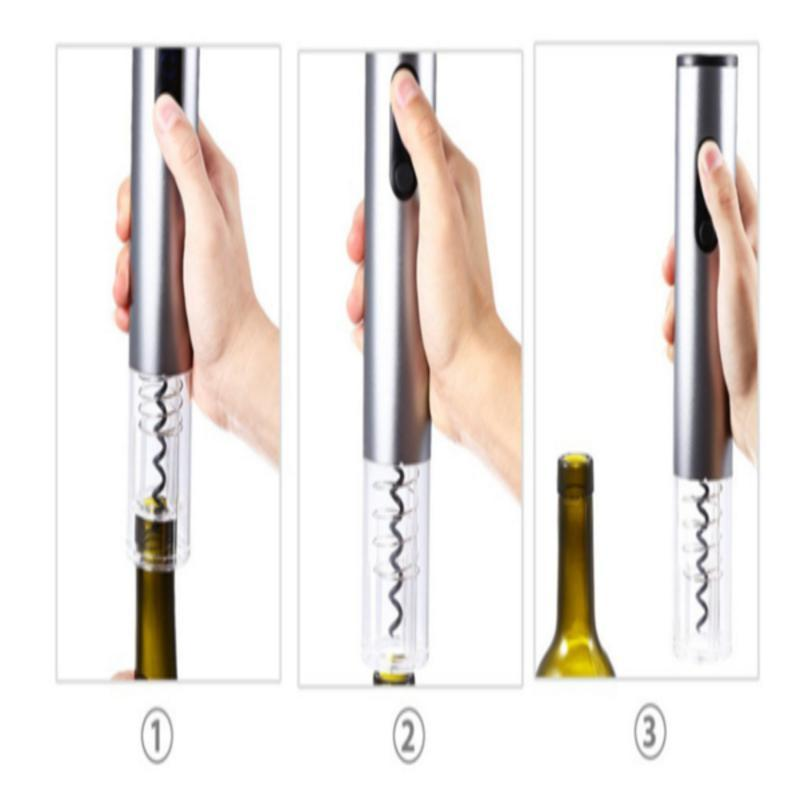 【40%OFF】 Electric Stainless Wine Opener