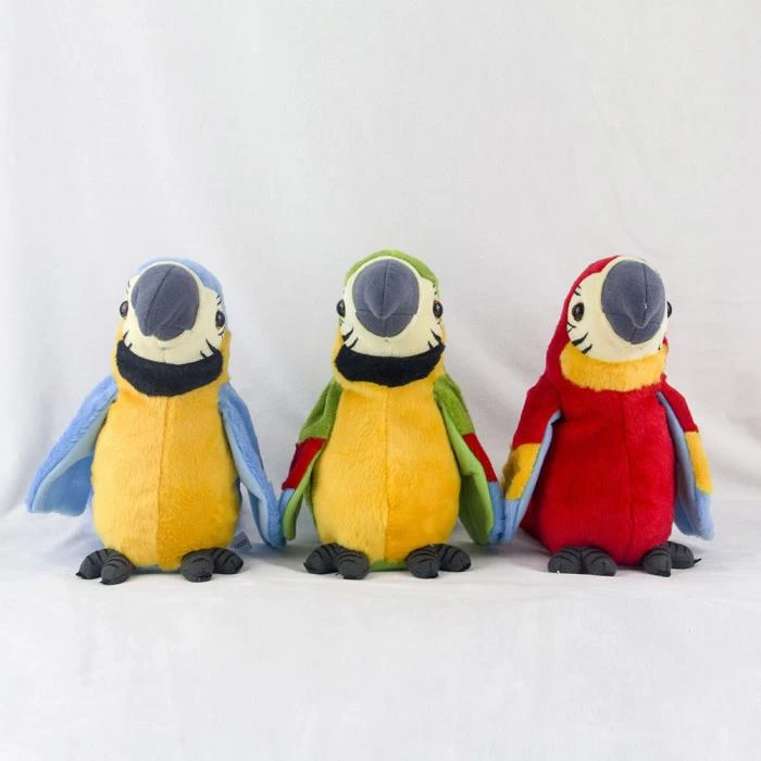 INTERACTIVE TALKING PARROT(BUY 2 FREE SHIPPING)