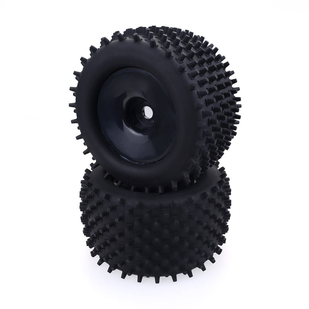 ZD Buggy Wheels Tires 17mm Hub  1:10 Pack of 2
