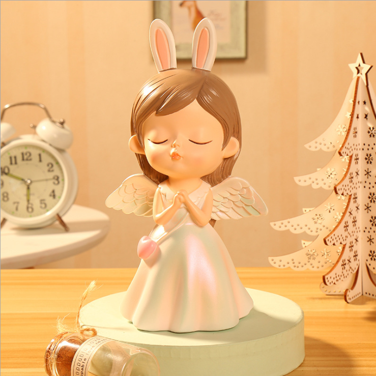 👰Best Gift Only $19.98👰 White Valentine's Day Blessing Angel