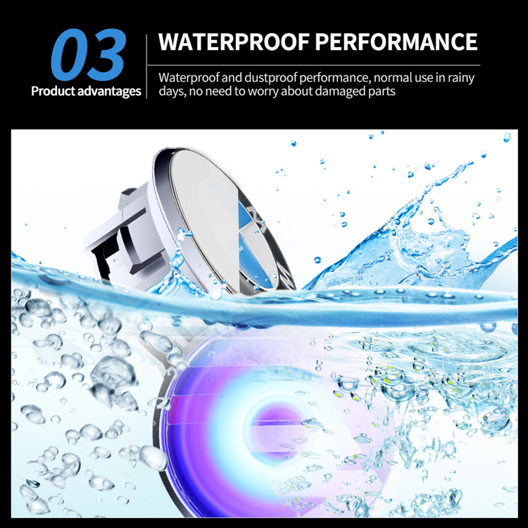 (Last Day Promotion&60% OFF)-Free Shipping Worldwide-Magnetic Suspension LED Floating Wheel Cap