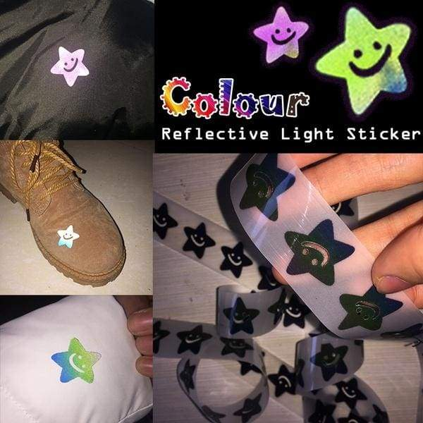 4M/2M/1M Safety Reflective Tape Iron On Heat Transfer Vinyl Film Stickers DIY Tape For Clothing