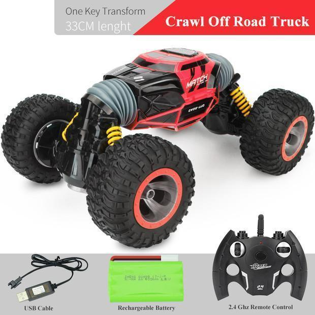 2.4Ghz Double Sided High Speed Racing Transform Monster Trucks
