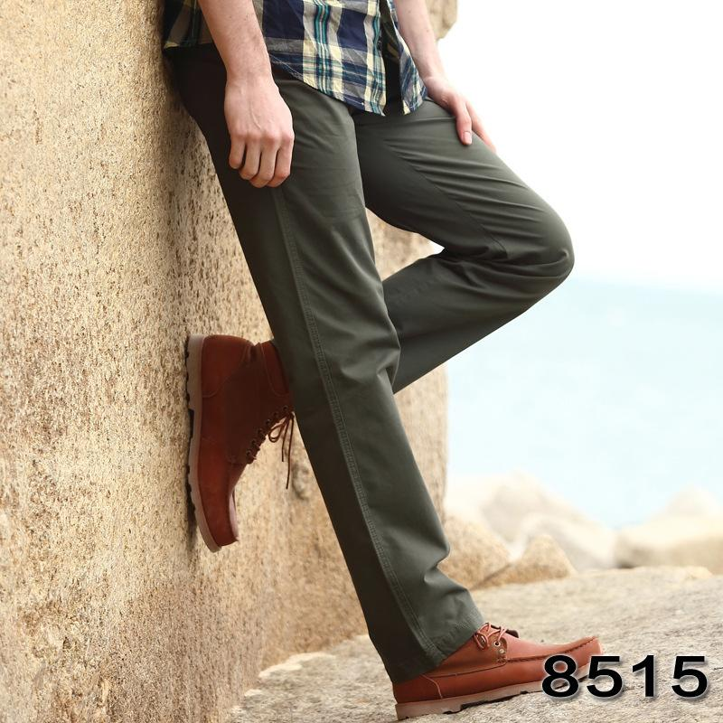 Simple Outdoor Casual Solid Color Cargo Pants