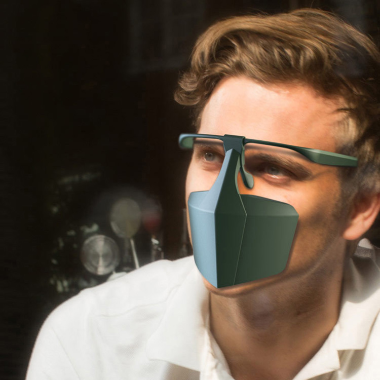 2020 Anti-Fog & Aplash-Proof Dust Mask