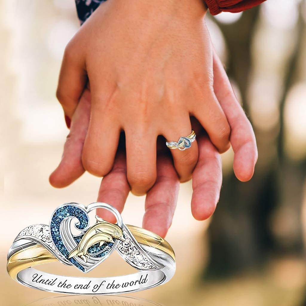 Dolphin ring Until the end of the world