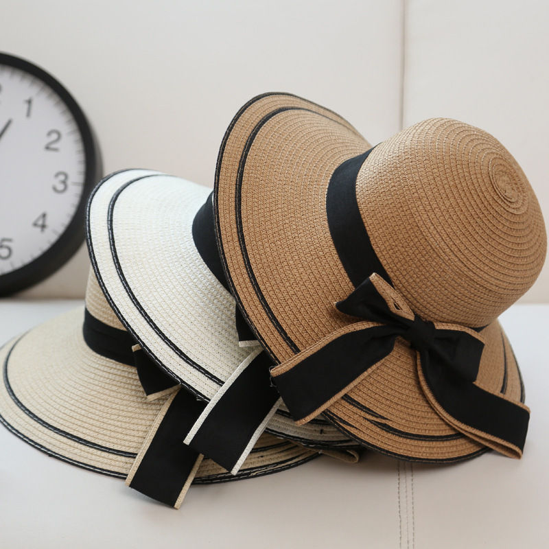 Buttercap - Bow Straw Hat