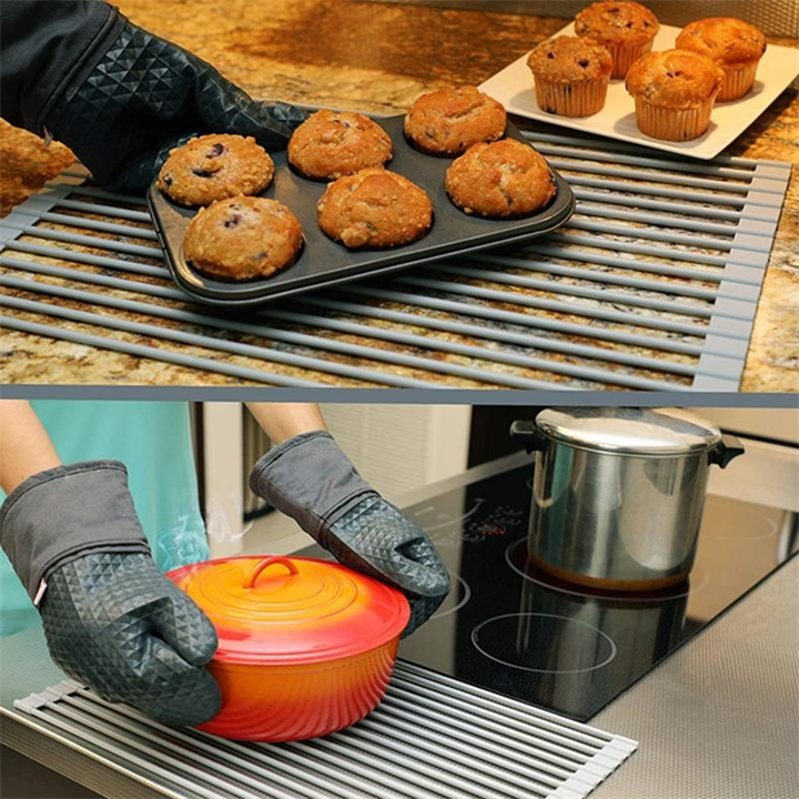 Roll-Up Drainer Rack(LARGE SUITABLE FOR 80% SINK)
