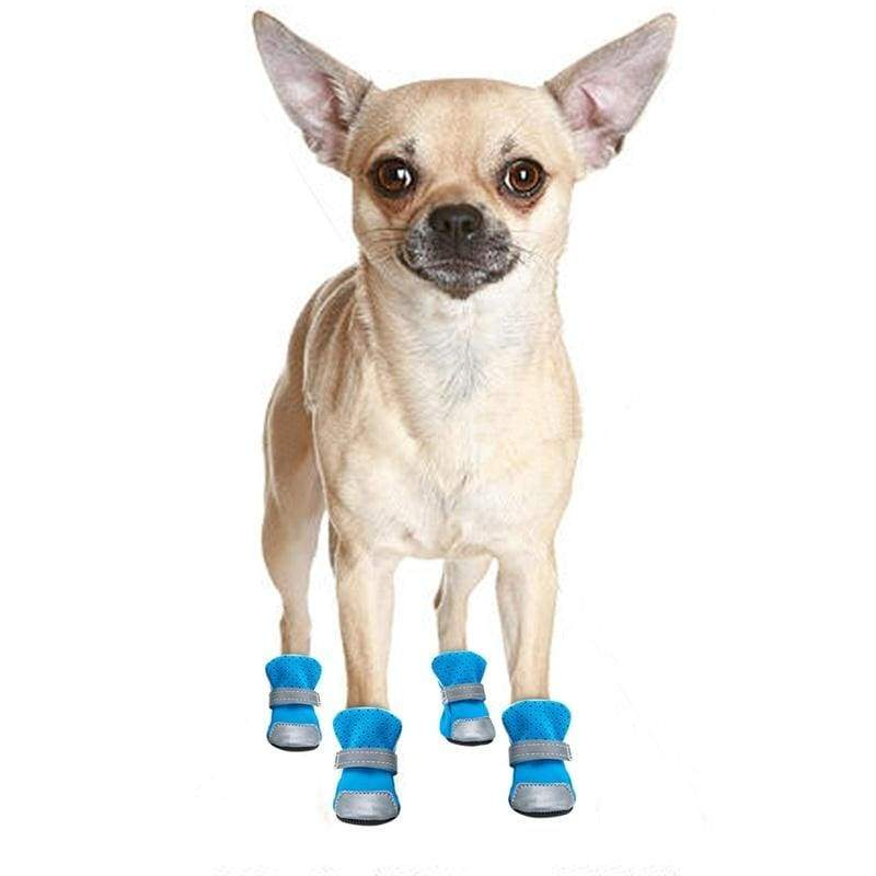 Waterproof Dog Cat Shoes Winter Warm Dog Puppy Socks Reflective Anti-Slip Rain Snow Pet Boots Paw Protecters for Small Dogs