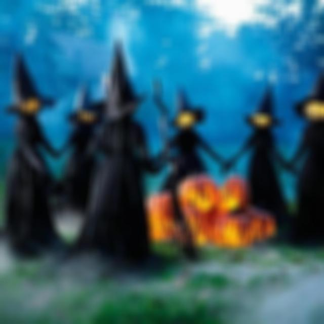 🔥Halloween Sales 50% Off🔥Lighted Halloween Witch Decoration Set(3 PCS)