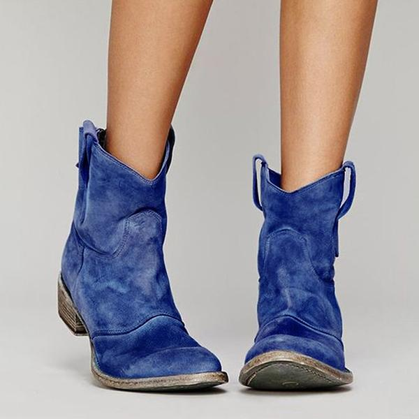Bonnieshoes Daily Flat Heel Boots