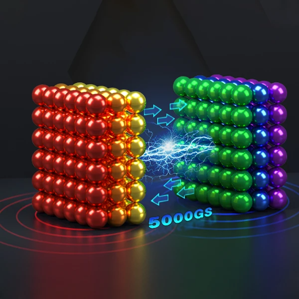 (New Year Promotion-Save 50% Off) Multi Colored DigitDots 216 pieces Magnetic Balls