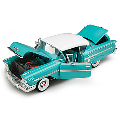 BUY 1 GET 2🚘1:18-Scale 1958 Chevy Bel Air Impala Diecast Car