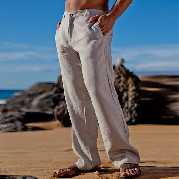 Lightweight Linen Amalfi Pants