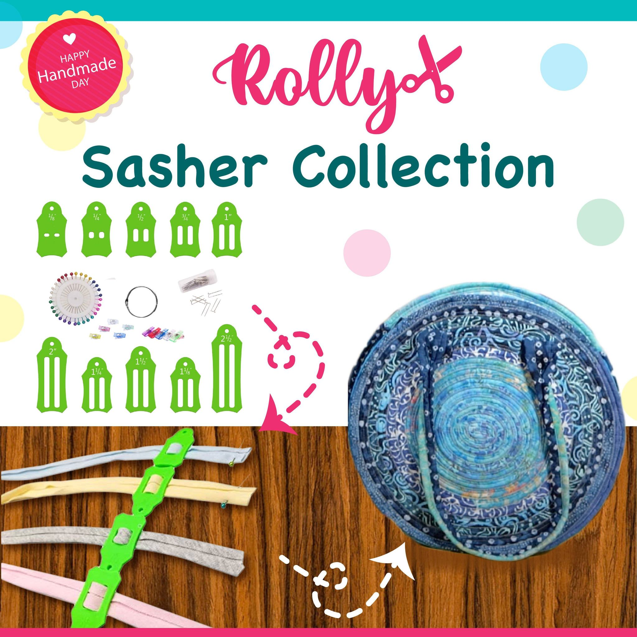 ROLLY Sasher Collection(30 Free Pinning Clips)