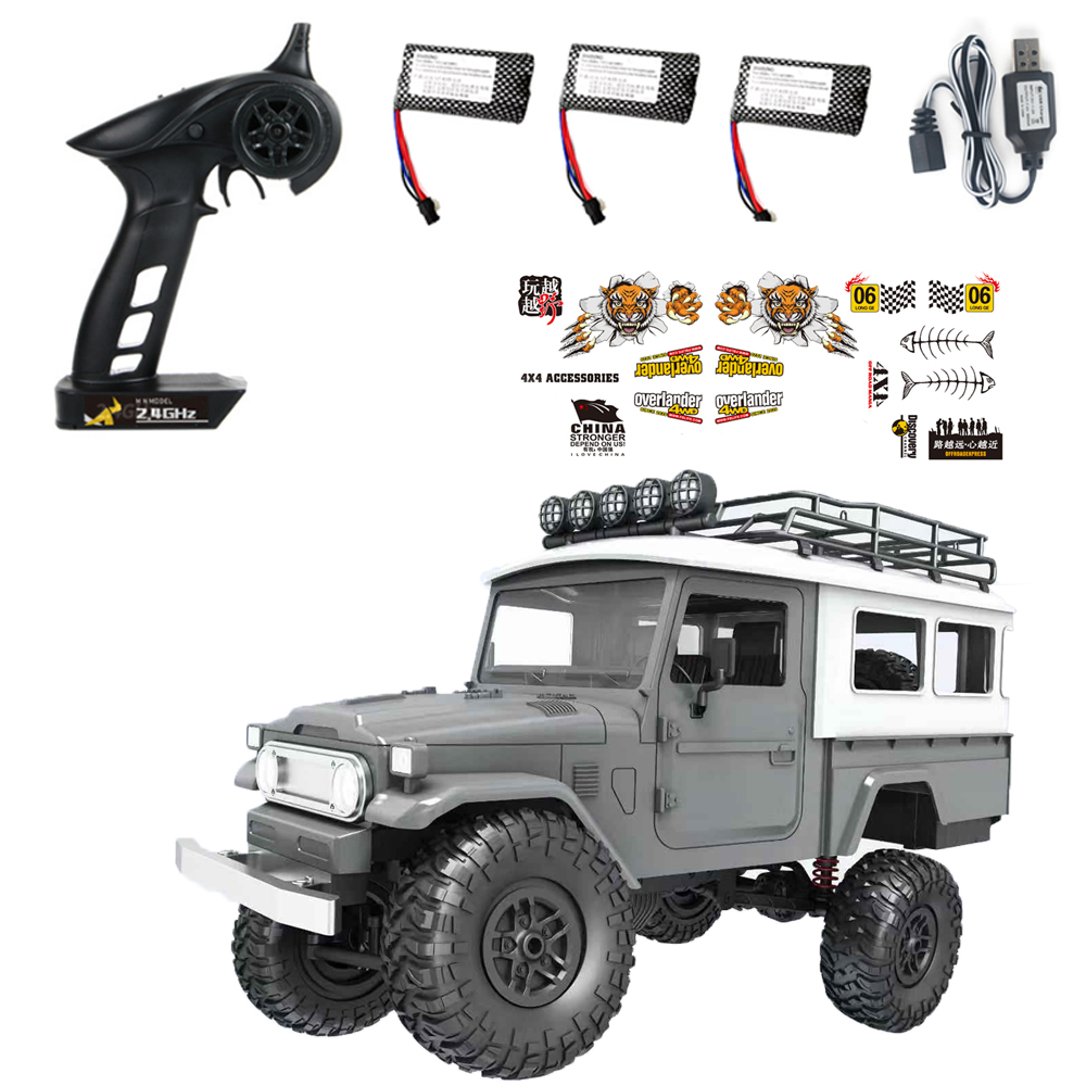 RBR/C MN40 Bull 1:12 Remote RC Off-road Vehicle 2 Batteries