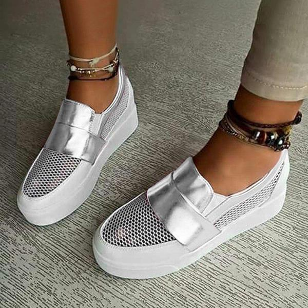 Twinklemoda Women Hollow Out Athletic Sneakers