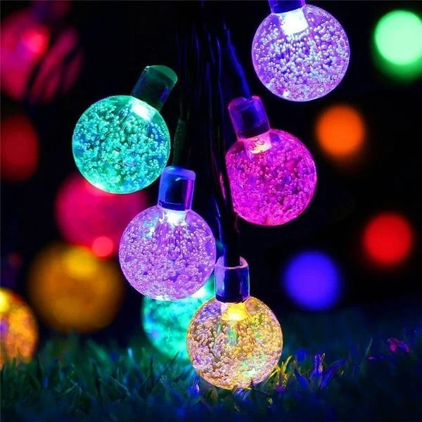 【50%OFF LAST DAY】-SOLAR POWERED LED OUTDOOR WATERPROOF STRING LIGHTS-BUY 2 FREE SHIPPING