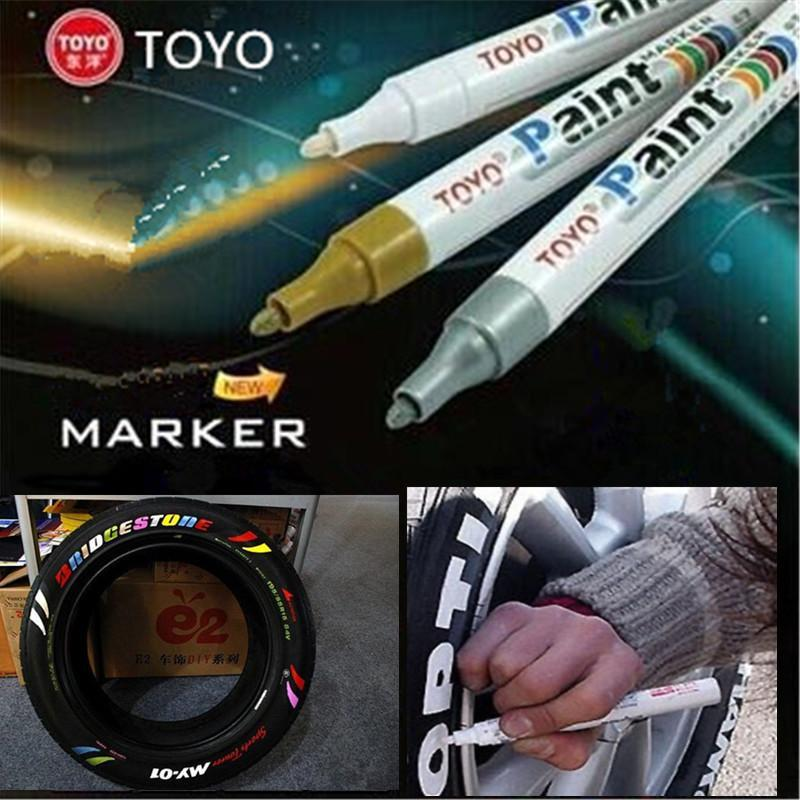(60% OFF ONLY TODAY)Waterproof and Non-Fading Tire Paint Pen