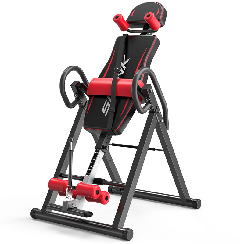 Handstand Machine Gravity Heavy Duty Inversion Table With Headrest And Protective Adjustable Belt Back Stretcher Machine Fitness Equipment