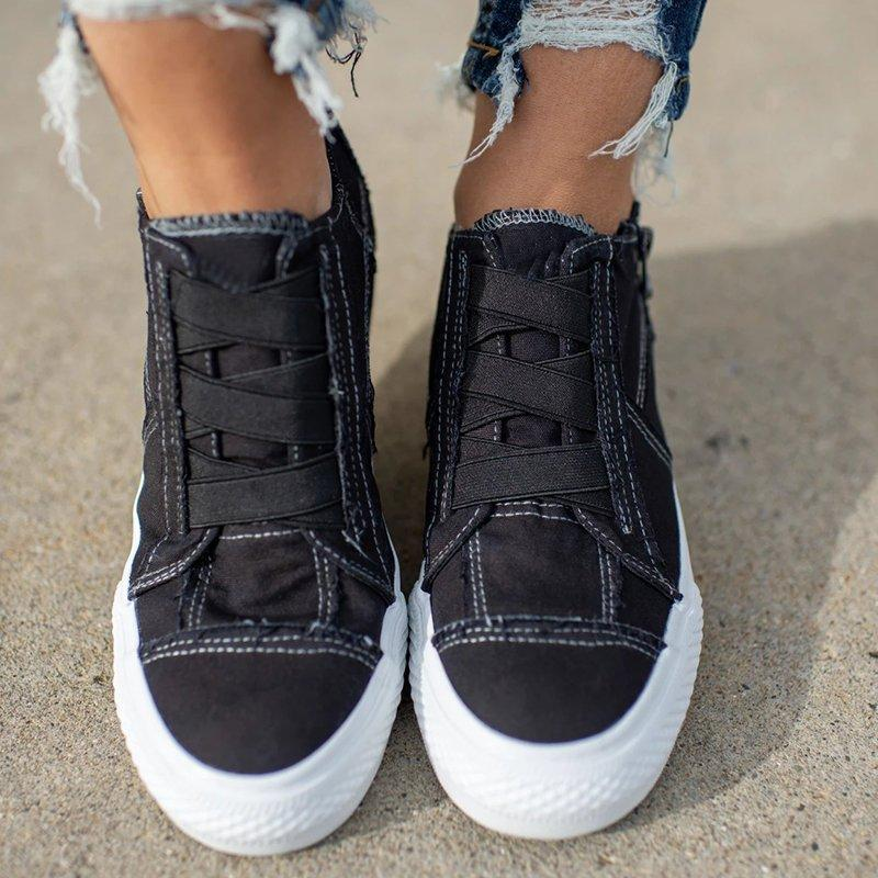 Mokoshoes Low Heel All Season Sneakers