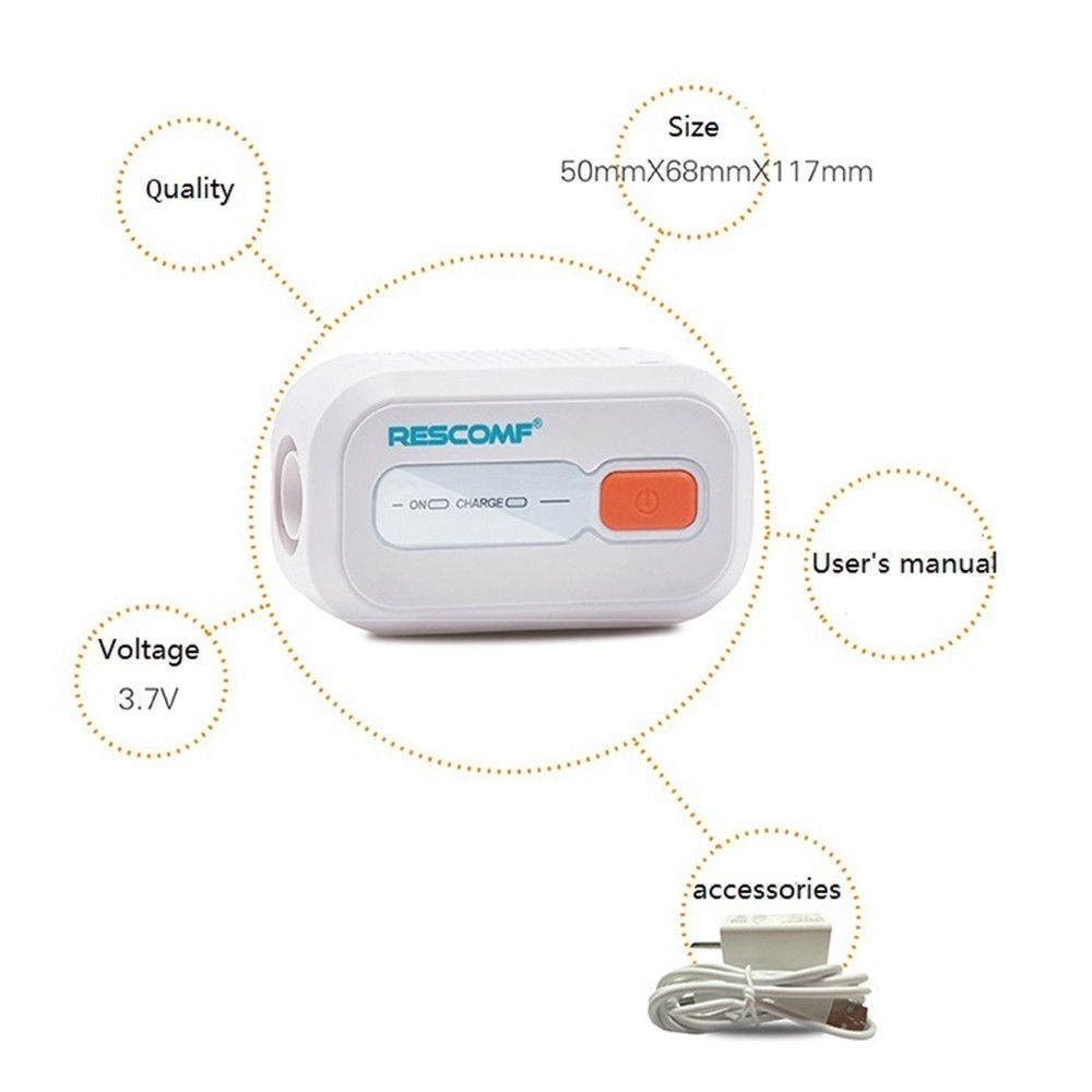 CPAP Cleaner and Sanitizer Supplies,CPAP Sanitizer Ozone for CPAP Mask, Accessory Sanitizer, Disinfectant and Air Tubes Machine Tube Respirator
