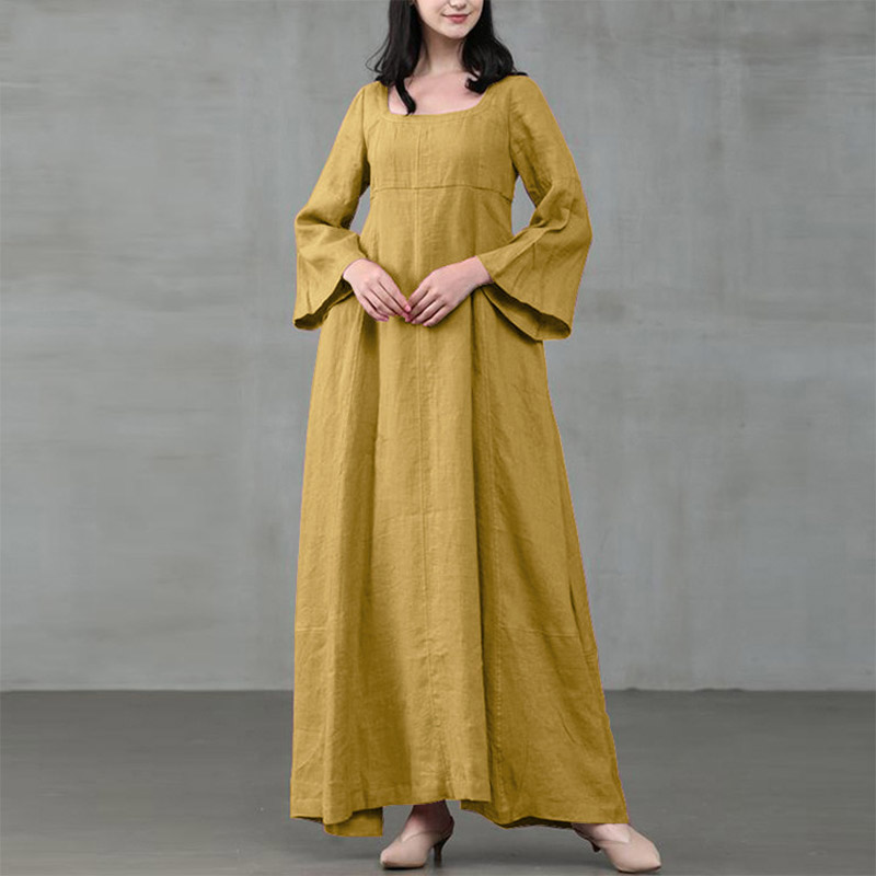 High quality cotton and linen new skirt