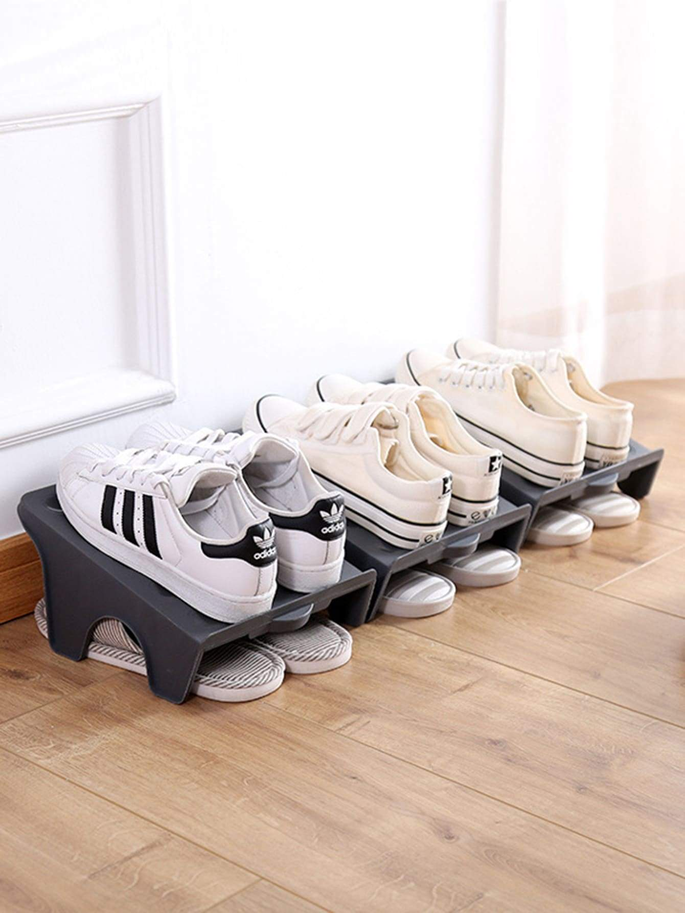 Double Layer Shoes Storage Rack 1pc