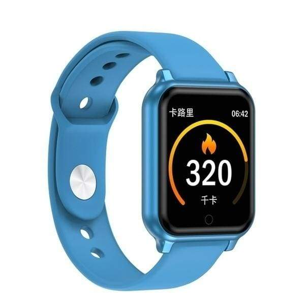 2020 Newest Fashion Bluetooth Smart Watch with Heart Rate Blood Pressure Monitor Waterproof Sport Activity Fitness Tracker Wearable Watch for Men Women PK Apple Watch series 5 series 4 iwatch