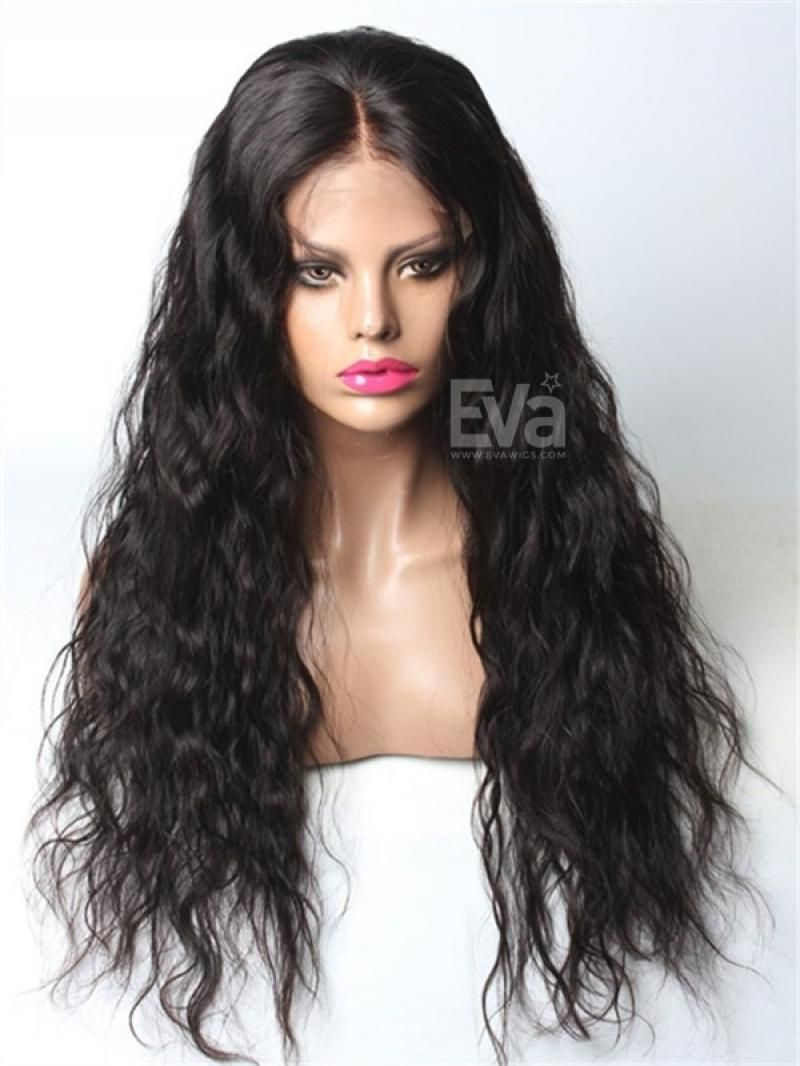 Black Wigs For Black Women Wavy Curls Long Hair Deep Wave 360 Frontal Wig Human Hair Body Wave Lace Front Wig Deep Wave Curly Wig